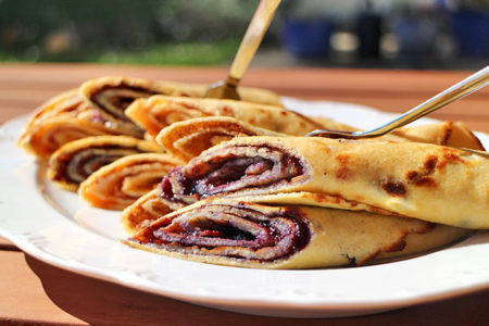 Low Carb Crepes mit Kokosmehl (Low Carb Rezept)