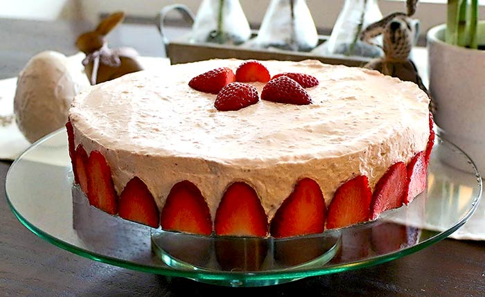 low carb rezept erdbeer mascarpone torte. Black Bedroom Furniture Sets. Home Design Ideas