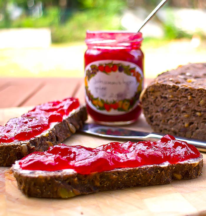 Low Carb Rezept | Johannisbeergelee ohne Zucker (Gelier-Xucker)
