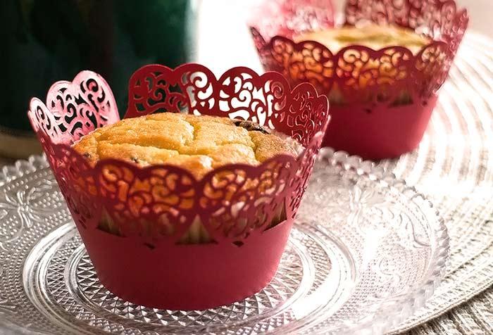 Low Carb Rezept | Fluffige Muffins mit Schokostückchen