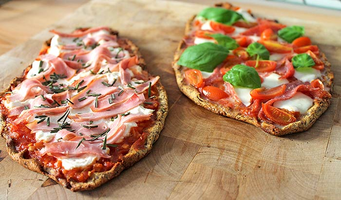 Low Carb Rezept | Low Carb Pizza-Schiffchen
