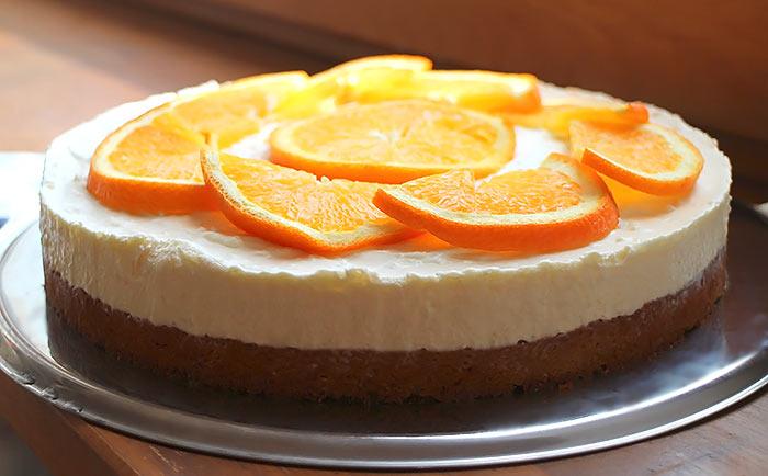 Low Carb Orangen-Torte (Fantakuchen)