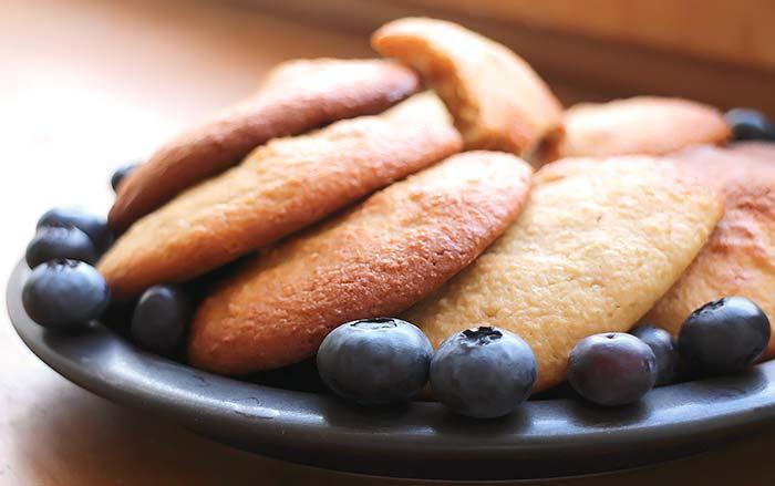Einfache Low Carb Erdnuss Cookies
