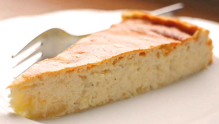 Saftiger Low Carb Apfel-Quark-Kuchen