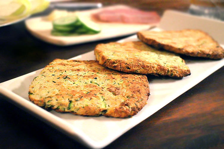 Low Carb Zucchini-Toast (Toastbrot)